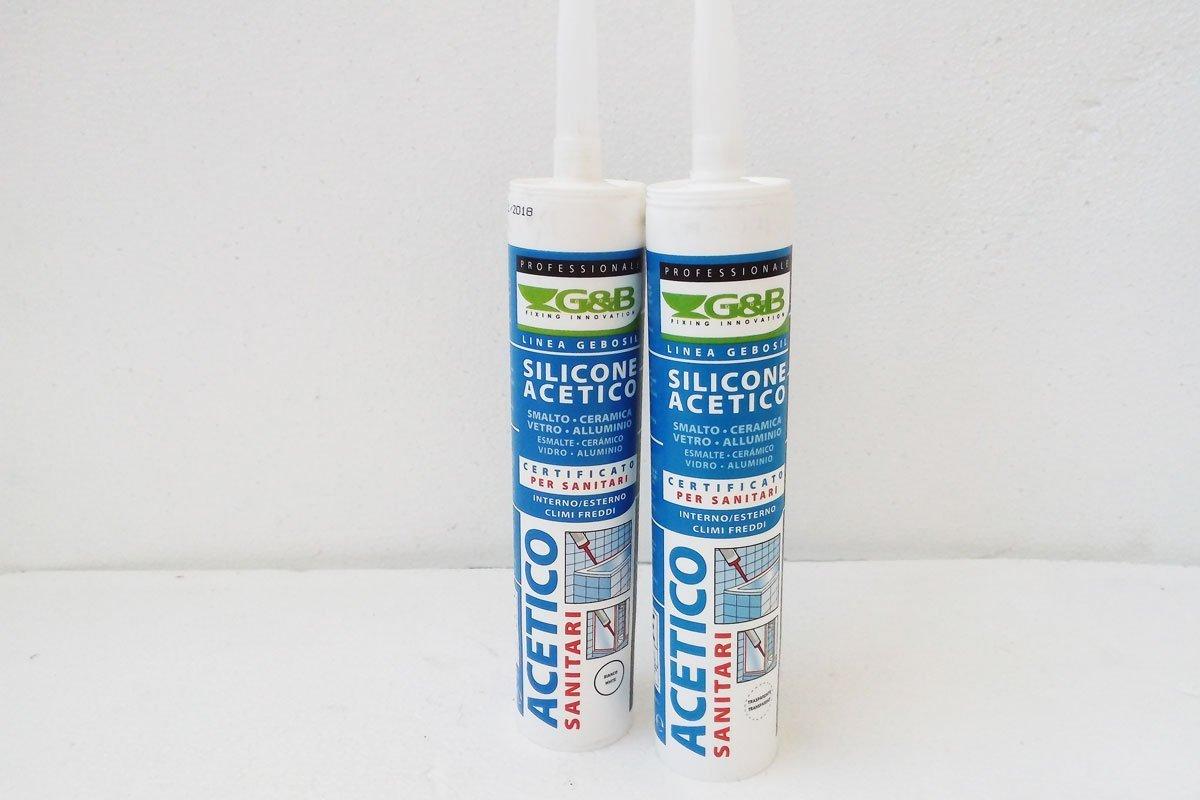 Silicone Acetico Per Interni Ed Esterni Antimuffa Garantito Idoneo