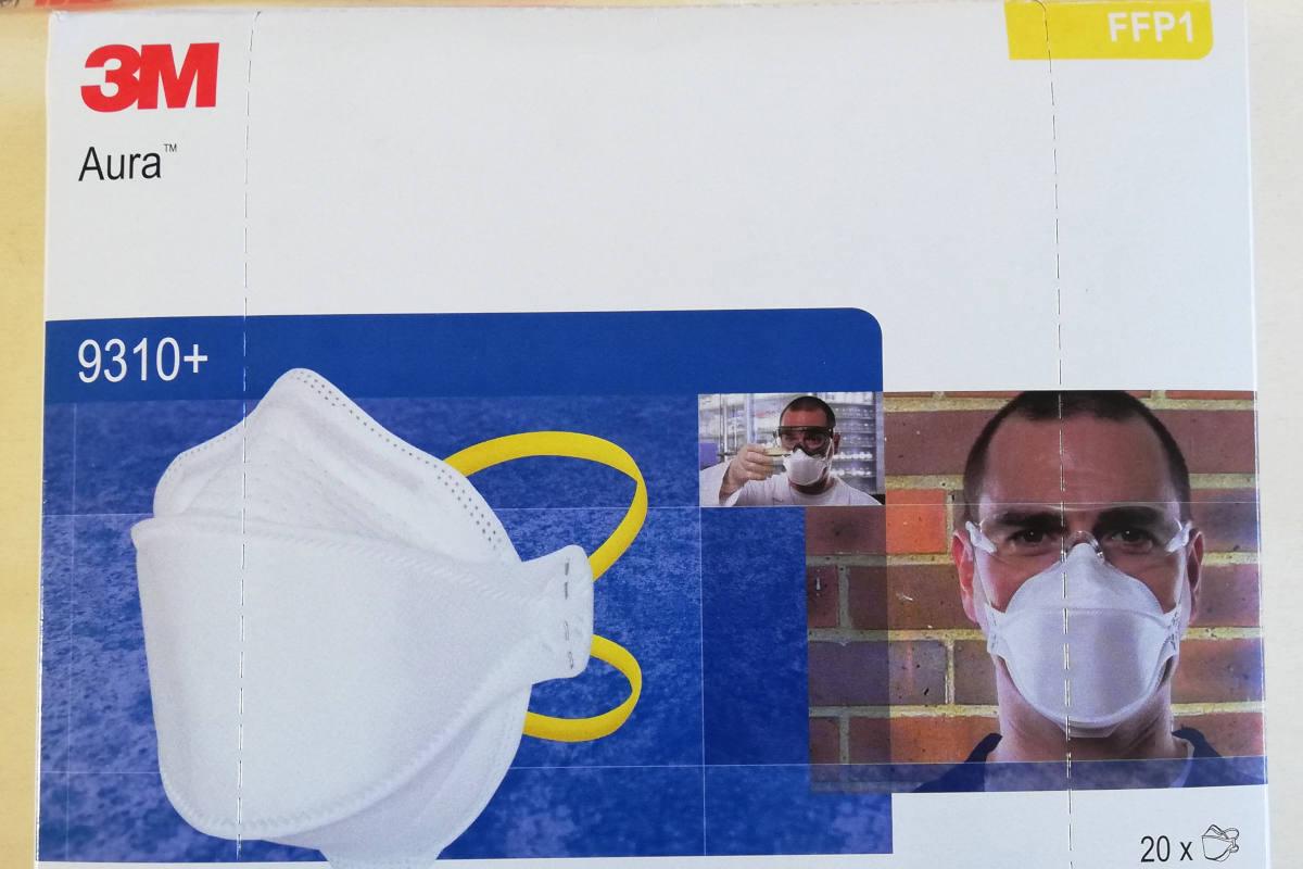 mascherina antibatterica 3m
