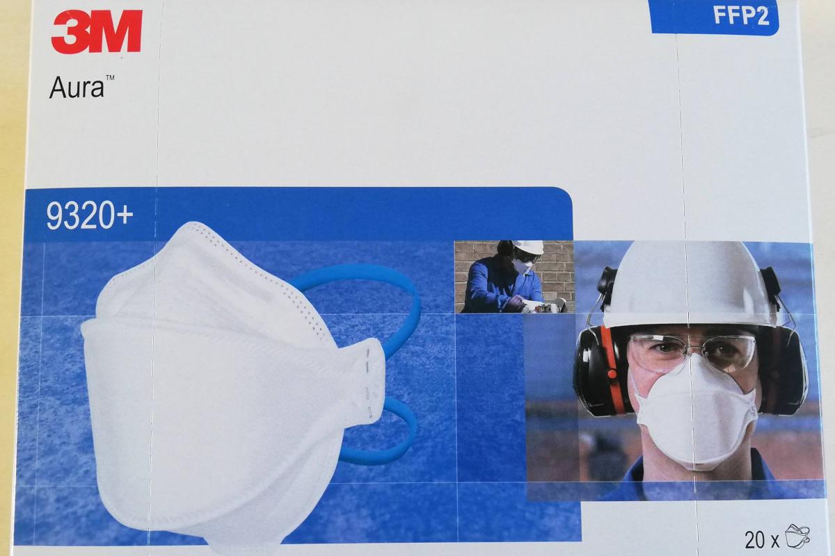 maschera ffp2 tubercolosi